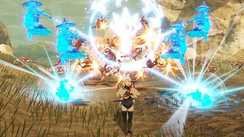 Mainkan Impa Versi Muda Di Hyrule Warriors Age Of Calamity