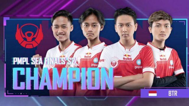 Indo Pride! Bigetron Juara PMPL SEA Finals Season 2, Aerowolf Limax Raih Posisi Runner Up!