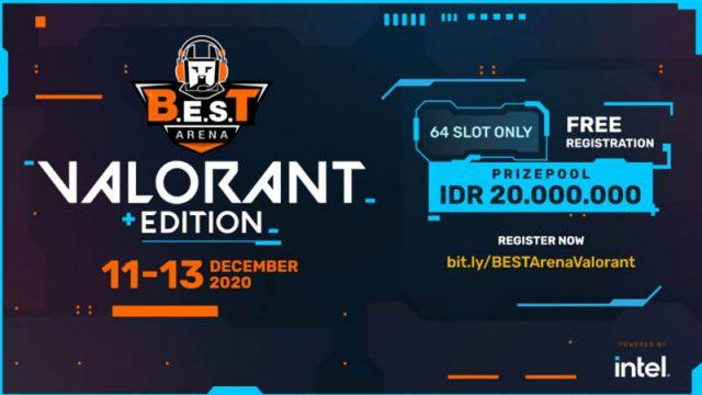 B.E.S.T Arena Valorant Edition Akan Hadir, Daftarkan Tim Kamu!