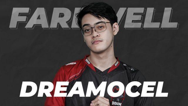 Empat Tahun Bersama, Dreamocel Resmi Meninggalkan BOOM Esports