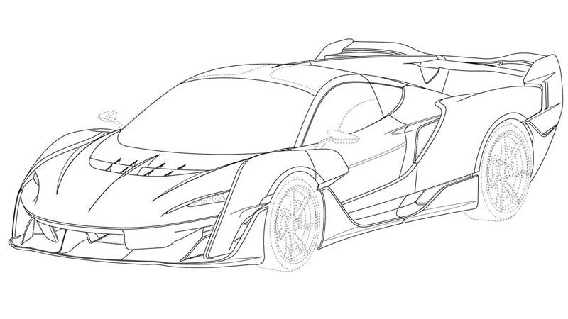 Mclaren 720s Spider Sketch Front 3 Autonetmagz Review Mobil Dan Motor Baru Indonesia