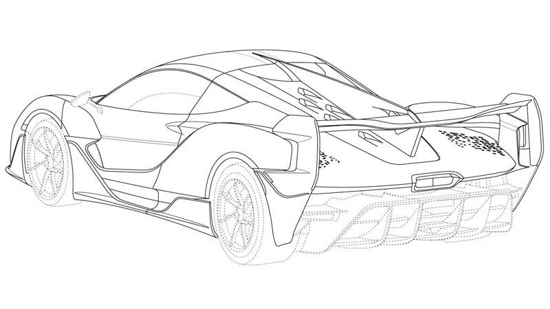Keren Dan Elegan Desain Mobil Terbaru Mclaren Sabre Dipatenkan