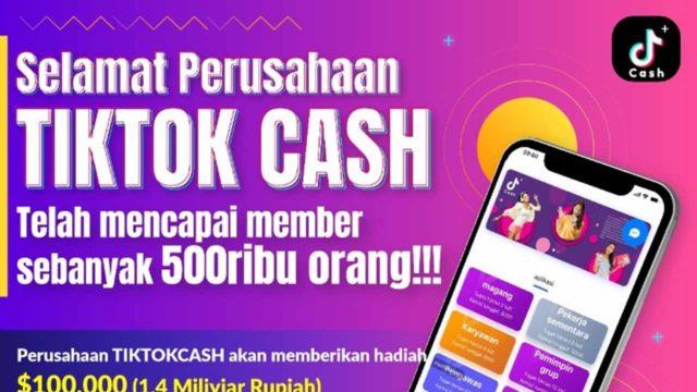 Aplikasi Tiktok Cash Beneran Bisa Dapat Uang Sambil Rebahan Ini Penjelasan Lengkapnya