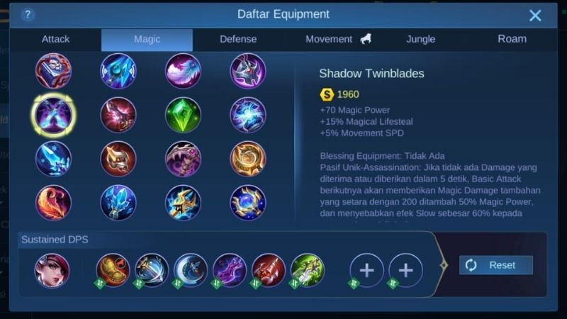 shadow twinblades mobile legends