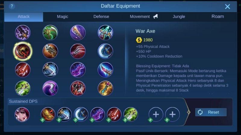 war axe mobile legends